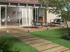 Pavimento/rivestimento in gres porcellanato effetto legno per interni ed esterniBOREALIS ABISKO - PANARIA CERAMICA
