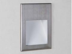 Segnapasso a parete in acciaio inox con dimmerBORGO 54 LED - ASTRO LIGHTING