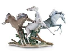 Soprammobile in porcellanaBORN FREE HORSES - LLADRÓ
