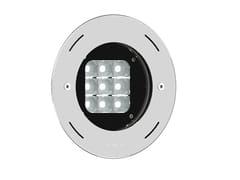 Proiettore per esterno a LED in acciaio inoxBORNHOLM 3 - LIGMAN LIGHTING CO.
