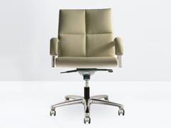 Sedia ufficio operativa ad altezza regolabile con braccioli BOSS 10.025/6-B - Boss