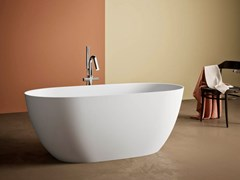 Vasca da bagno ovale in BluStoneBOTERO - KAROL ITALIA