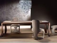 Tavolo rettangolare in legno massello BOTERO - Carpanelli contemporary 2013