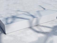 Panchina in calcestruzzo senza schienale BOX (300) - Basic