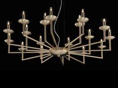Lampadario a LED in ottoneMETROPOLITAN | Lampadario in ottone - AIARDINI ILLUMINAZIONE