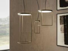Lampada a sospensione a LED in metalloBRASSIE ROUND - APP DESIGN