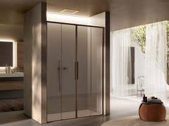 Box doccia a nicchia in vetro con porta scorrevoleBRAVE 01 - DISENIA SRL  BY IDEAGROUP