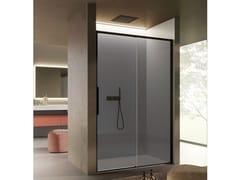 Box doccia a nicchia in vetro con porta scorrevoleBRAVE 02 - DISENIA SRL  BY IDEAGROUP