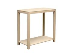Tavolino alto in legno impiallacciatoBRERA - CONCEITO CASA