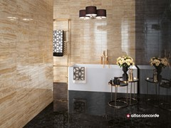 Rivestimento in ceramica a pasta bianca effetto marmo BRICK ATELIER - Brick Atelier