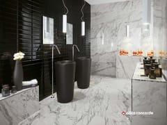 Rivestimento in ceramica a pasta bianca effetto marmo BRICK ATELIER BEVEL - Brick Atelier