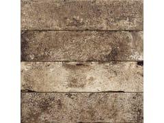 Pavimento/rivestimento in gres porcellanato effetto pietraBRICKLANE BRUNO - CERAMICHE COEM