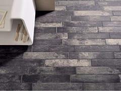 Pavimento/rivestimento in gres porcellanato effetto pietraBRICKLANE - CERAMICHE COEM