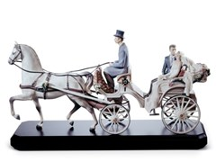 Soprammobile in porcellanaBRIDAL CARRIAGE COUPLE - LLADRÓ