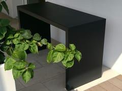 Tavolo da giardino in acciaio inoxDUE - BLOSS