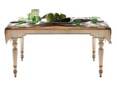Tavolo rettangolare in legno masselloBRIGITTE - FABER MOBILI