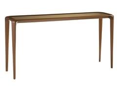 Consolle rettangolare in legno e vetroBRIO | Consolle - ROCHE BOBOIS