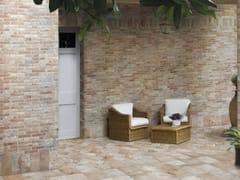 Pavimento rivestimento in gres porcellanato effetto mattone bristol