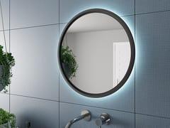 DDL, BRITISH Specchio rotondo con cornice con illuminazione integrata