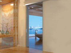 Metalglas Bonomi, BRIXIA 140 OPTIONAL SOFT CLOSE Kit per porta scorrevole