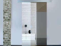 Metalglas Bonomi, BRIXIA HEAVY OPTIONAL SOFT CLOSE Kit per porta scorrevole