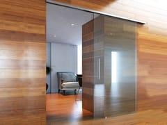 Metalglas Bonomi, BRIXIA MICRO OPTIONAL SOFT CLOSE Kit per porta scorrevole