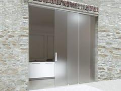 Metalglas Bonomi, BRIXIA SINCRO 3 VIE Kit per porta scorrevole
