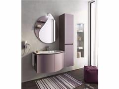 Mobile lavabo singolo sospeso con ante BROADWAY B8 - Urban