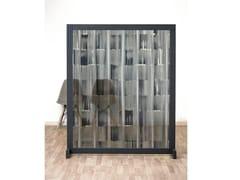 Pannello divisorio geometrico in IMPEX® e struttura in legnoBROOKLANDS - SPAZIO 81