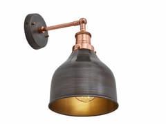 Lampada da parete in ferro con braccio fisso BROOKLYN CONE | Lampada da parete - Brooklyn