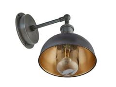 Lampada da parete per esterno in ottoneBROOKLYN DOME   Lampada da parete - INDUSTVILLE