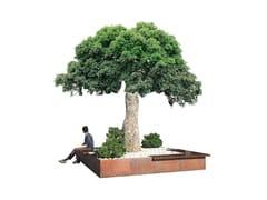 Panchina in legno con fioriera integrataBRUNICO - EUROFORM K. WINKLER