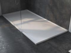 Piatto doccia angolare rettangolare in Corian®BRUXELLES - RILUXA