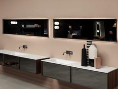Antonio Lupi Design, BSK50108 Specchio rettangolare con cornice da parete