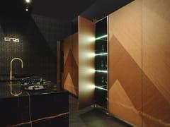 Cucina in marmo con isola con maniglie integrateBT45 MI45 - BAUTEAM