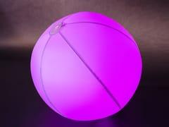 Lampada da terra per esterno a LED in plastica con sistema RGBBUBBLE - SMART AND GREEN
