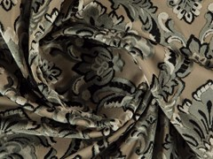 Tessuto damascato lavabile in vellutoBUCKINGHAM - MORE FABRICS
