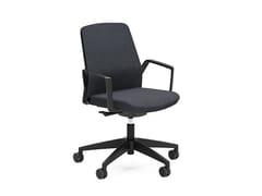 Sedia ufficio operativa ergonomica girevole in tessuto BUDDY IS3 260B - BUDDYis3