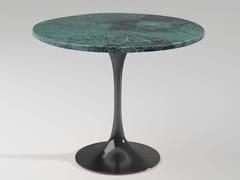 Tavolino alto rotondo in marmo Guatemala Verde BUENOS AIRES | Tavolino in marmo -