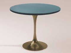 Tavolino alto rotondo in legno BUENOS AIRES | Tavolino in legno -