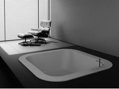 Vasca da bagno quadrata da incassoALFA FUSION | Vasca da bagno da incasso - ABSARA INDUSTRIAL