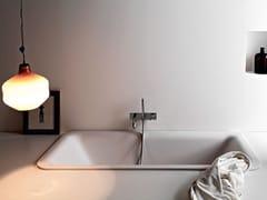 Vasca da bagno rettangolare in Cristalplant® da incassoNOVECENTO | Vasca da bagno da incasso - AGAPE