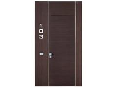 Porta tagliafuoco in legnoBUSSOLA 9 - SEBINO CHIUSURE