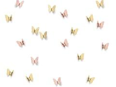Appendiabiti da parete in ottoneBUTTERFLY | Appendiabiti da parete - GHIDINI GIUSEPPE BOSCO