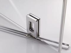 Metalglas Bonomi, B-304 Cerniera per box doccia in alluminio