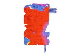 Tappeto fatto a mano in seta di bambù BYSKE NORDIC RAW MINI 031A - Henzel Studio Heritage: Andy Warhol / Art Rugs