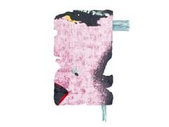 Tappeto fatto a mano in seta di bambù BYSKE NORDIC RAW MINI 031B - Henzel Studio Heritage: Andy Warhol / Art Rugs