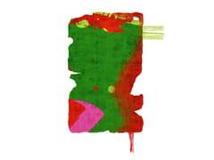 Tappeto fatto a mano in seta di bambù BYSKE NORDIC RAW MINI 031D - Henzel Studio Heritage: Andy Warhol / Art Rugs