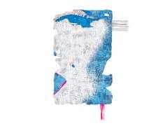 Tappeto fatto a mano in seta di bambù BYSKE NORDIC RAW MINI 031E - Henzel Studio Heritage: Andy Warhol / Art Rugs