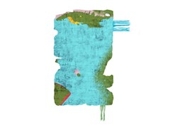 Tappeto fatto a mano in seta di bambù BYSKE NORDIC RAW MINI 031G - Henzel Studio Heritage: Andy Warhol / Art Rugs